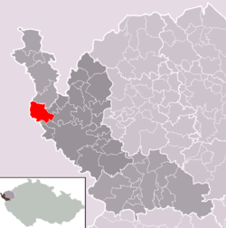 Municipality of Libá within the Aš District