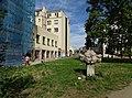 Libeň, Zenklova, pomníček u synagogy.jpg