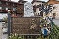 Liesing Hauptplatz Gedenktafel für Dr. Matthias Lexer 06102018 4887.jpg