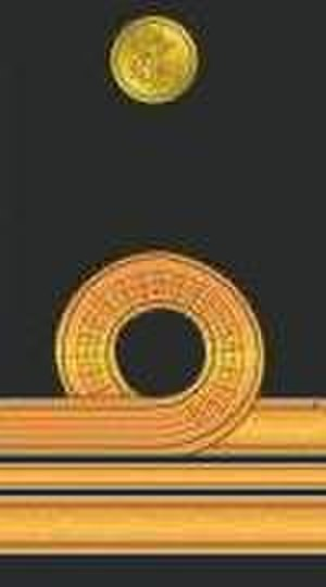 Lieutenant commander - Pakistani Lt. Commander's insignia.