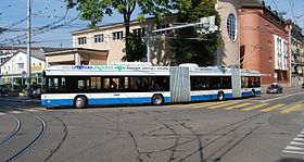 Image illustrative de l'article Trolleybus de Zurich