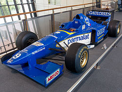 Ligier JS43 front-left Honda Collection Hall.jpg