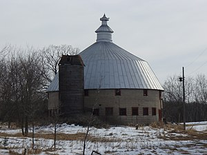 National Register of Historic Places listings in Isanti County, Minnesota - Image: Linden Barn 2