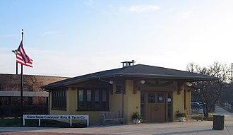 Linden station (CTA) - The original Linden Station