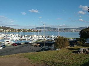 Lindisfarne, Tasmania - Lindisfarne Bay