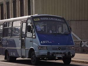 Español: Transporte del gran Concepción Licita...