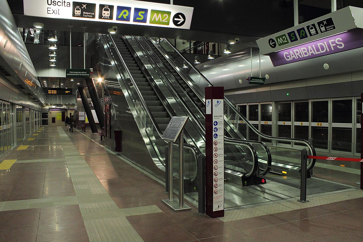Transport in milan wikipedia - Milano porta garibaldi station ...