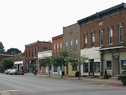 Downtown Lisbon, Iowa