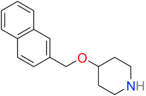 Litoxetine - Image: Litoxetine 2D skeletal