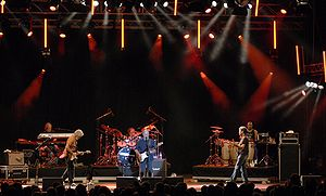 Little Feat - Performing at Stockholm JazzFest'09 in July 2009