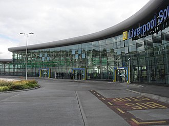 Liverpool John Lennon Airport - Liverpool South Parkway railway station was built to improve links to the airport