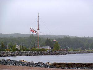 Liverpool, Nova Scotia - Harbour at Liverpool, Nova Scotia