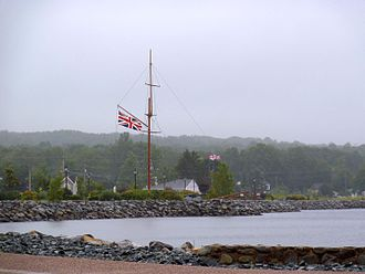 Liverpool, Nova Scotia - Harbour at Liverpool, Nova Scotia