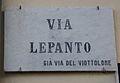 Livorno Via Lepanto street name 01.JPG