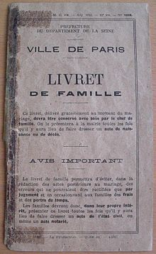http://upload.wikimedia.org/wikipedia/commons/thumb/6/6c/Livret_de_famille_Paris_1948.JPG/220px-Livret_de_famille_Paris_1948.JPG