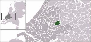 Haastrecht - Image: Locatie Vlist