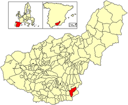Location of Murtas