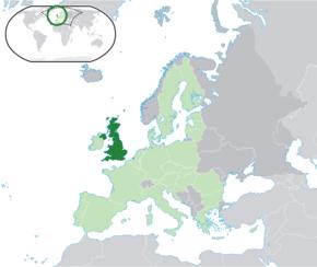 Lokaasje fan Grut-Brittanje