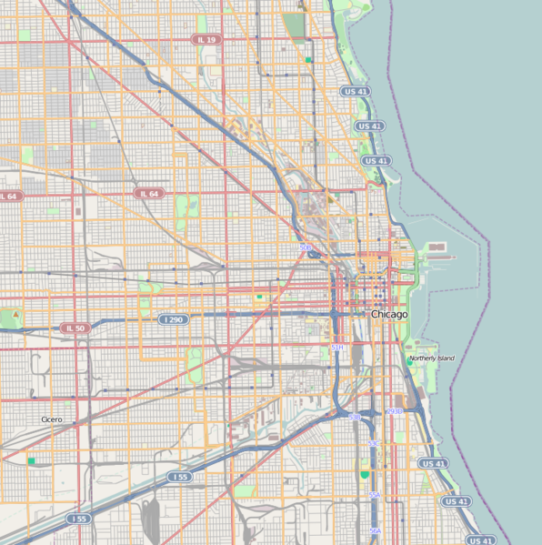 Fichier:Location map Chicago.png