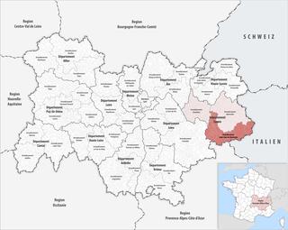 Arrondissement of Saint-Jean-de-Maurienne Arrondissement in Auvergne-Rhône-Alpes, France