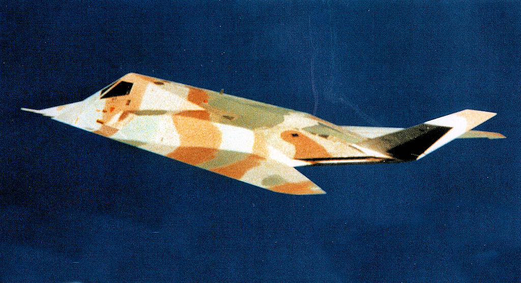 Lockheed F-117A Nighthawk 79-10780 Camo