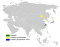 Locustella pryeri distribution map.png