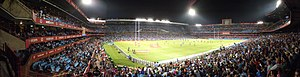 Loftus Versfeld Stadium - Loftus Versfeld during a Super Rugby encounter between the Bulls and the Sharks.