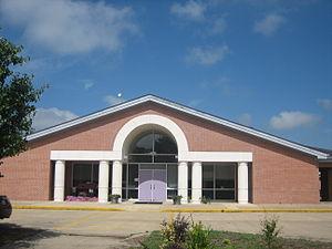 Logansport, Louisiana - Logansport High School off Louisiana State Highway 5