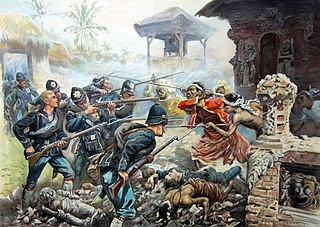 Dutch intervention in Lombok and Karangasem