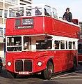 London General (CS) Routemaster bus RML2318 (CUV 318C) open top, 2006 London to Brighton veteran car run.jpg