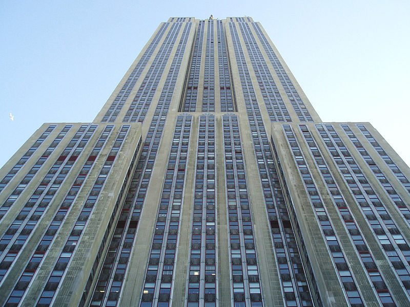 Fichier:Looking Up at Empire State Building.JPG