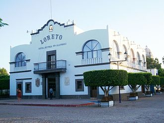 Loreto, Baja California Sur - Image: Loreto, BCS, City Hall