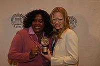 Loretta Devine and Jeri Ryan, May 2003 (1).jpg