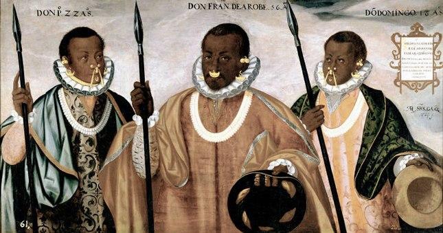 Los Negros de Esmeraldas - Andr%C3%A9s S%C3%A1nchez de Gallque (siglo XVI)