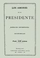 Los amores de un presidente - Ed. Pedro Irume.pdf