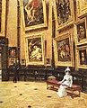 Louis Beroud - au Louvre 1899.jpg