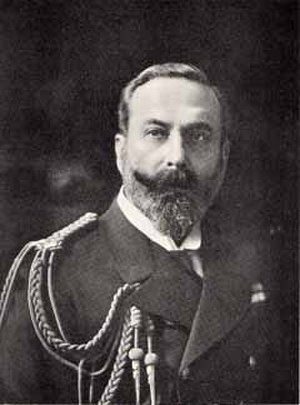Carl Vandyk - Prince Louis photographed by Carl Vandyk of London, 1905