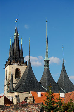 St Nicholas Church in Louny
