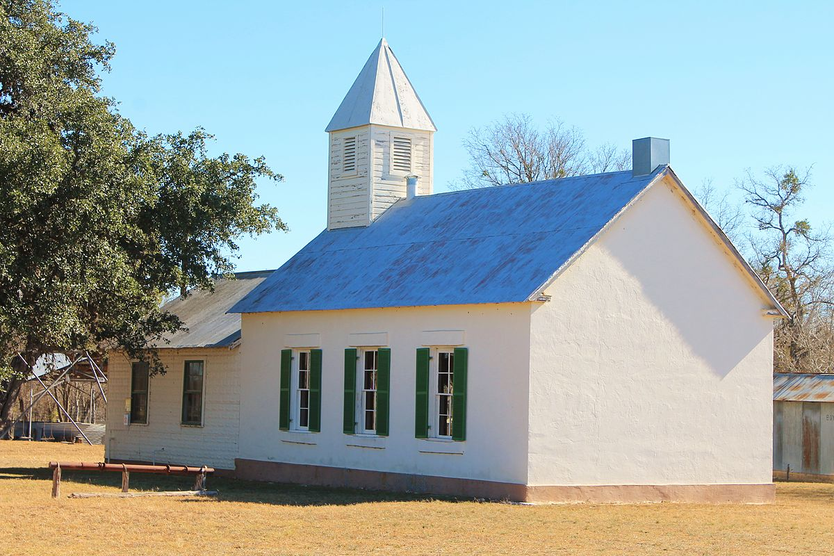 Lower South Gcreek School Gillespie County Texas