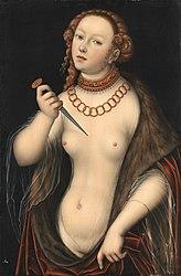 Lucas Cranach the Elder: Lucretia