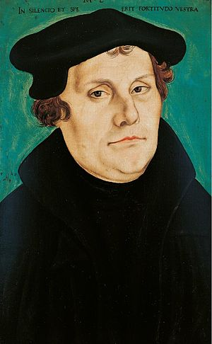 Ludwig Roselius Museum - Lucas Cranach: Portrait of Martin Luther