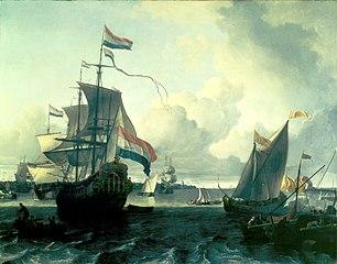 The Dutch Man-of-War \