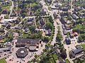 Luftbild Mittelzentrum Handel & Gewerbe Steinbergkirche B 199 Amt Gelting Angeln Foto Wolfgang Pehlemann Steinberg IMG 6392.jpg