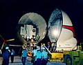 Lunar Module 3 arrives at KSC aboard Super Guppy (KSC-68PC-85).jpg