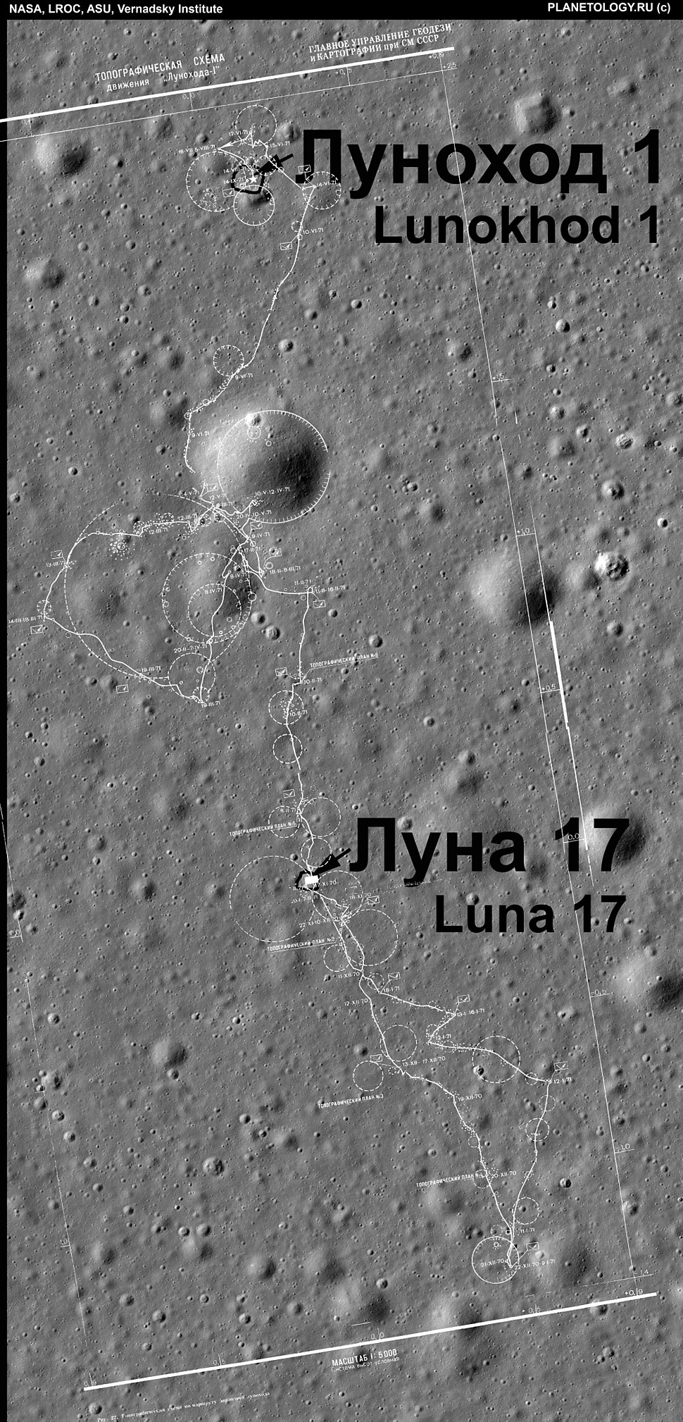 Lunokhod1 l 17 with map