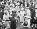 Lustrum Amsterdamse studenten, opening door prins Bernhard koppen prinsessen Bea, Bestanddeelnr 914-0493.jpg