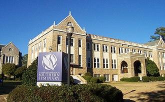 Charles M. Robinson (architect) - Beam Hall at Lutheran Theological Southern Seminary.