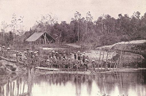 Luzon mining camp, 1899