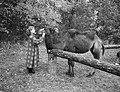 Lya Speel in proces over prive dierentuin Haarlem, Bestanddeelnr 906-8485.jpg