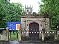 Lychgate, Deane Parish Church, St Mary the Virgin - geograph.org.uk - 467274.jpg